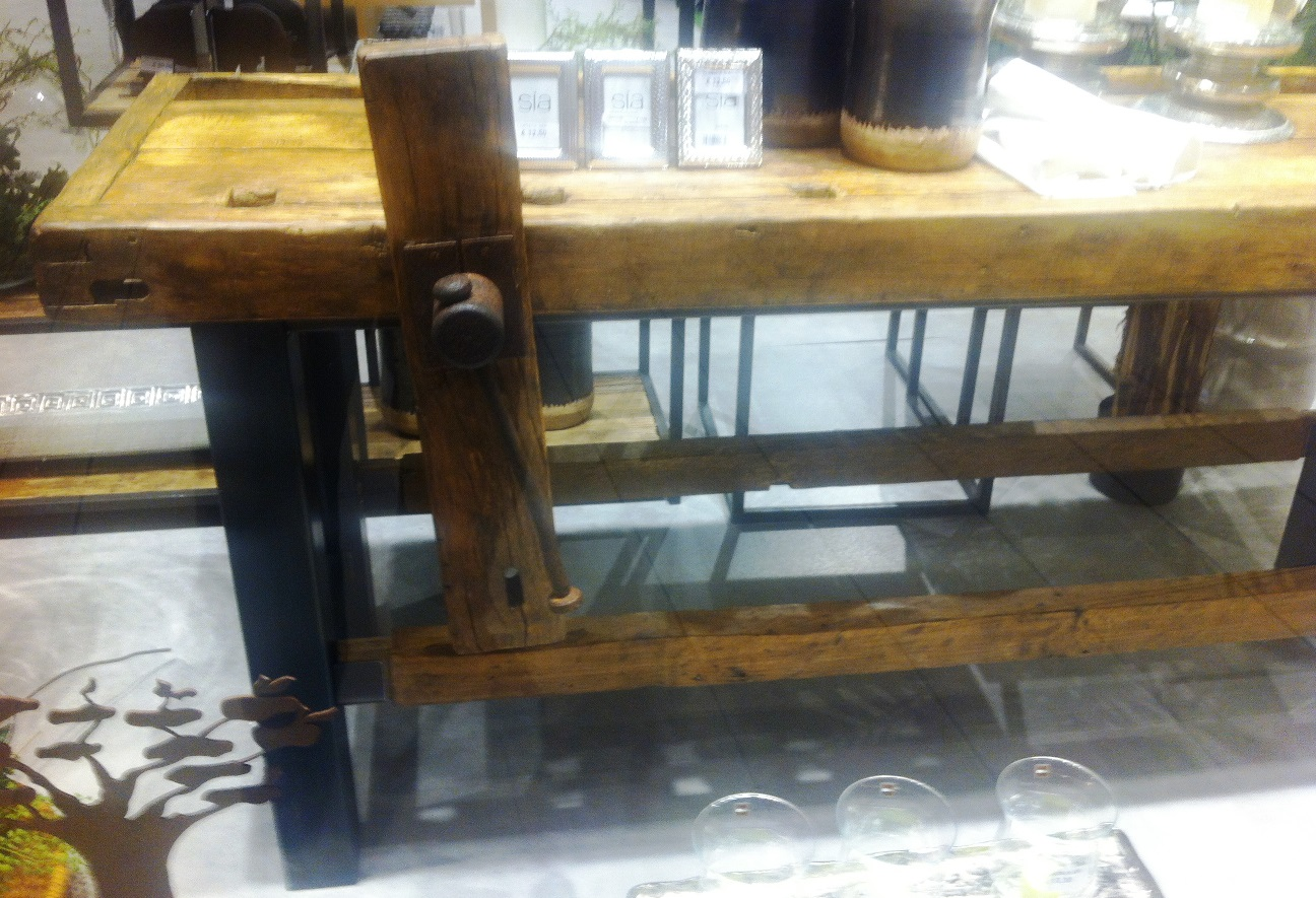 Tavoli Da Lavoro Vintage : Banco da lavoro falegname vintage arredamento stile