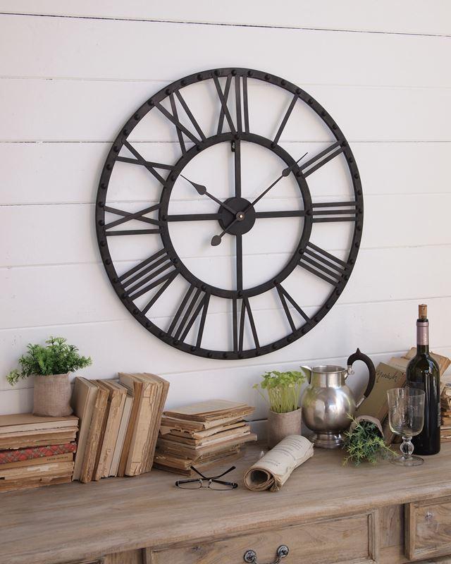 Orologio da parete per arredamento stile vintage for Arredamento stile industriale roma