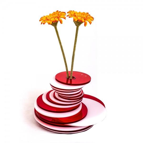 Vasi ceramica moderni bianchi e decorati arredamento moderno for Vasi d arredo moderni